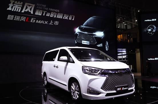 江淮汽车瑞风L系首款车型正式上市,开启中高端MPV市场新时代